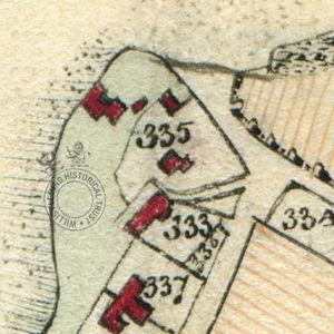 Gawn's (no.335) from Survey of the Estates on the Isle of Wight, 1817